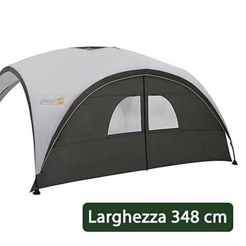 Parete Laterale Con Finestre E Apertura Centrale Per Gazebo Coleman Event Shelter 365 Cm