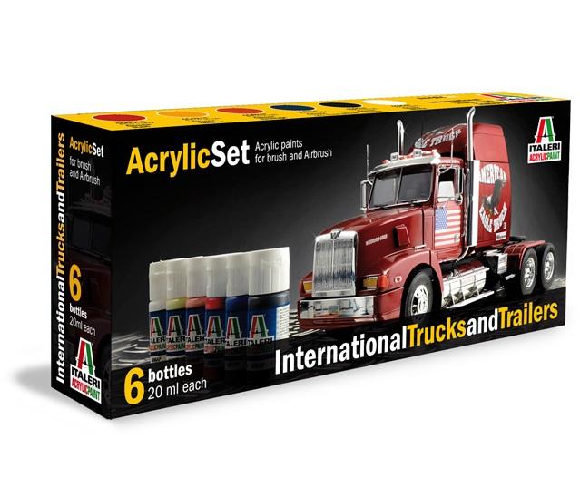 Camion: International Trucks (6 Boccette Incluse) (435AP)