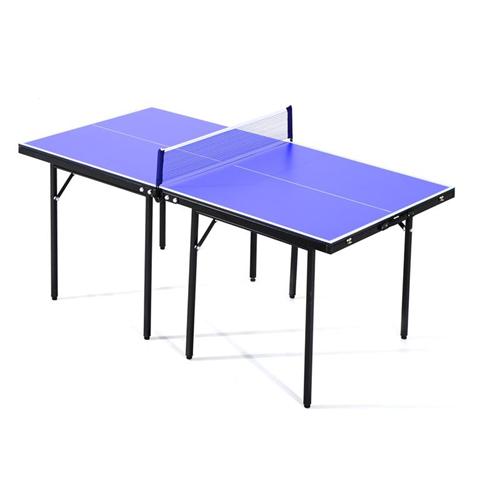 HomCom Tavolino da Ping Pong Pieghevole in Legno MDF 153 x 76.5 x 67cm