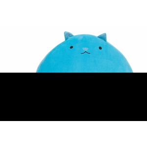 Fluffy Cat Azzurro. Gatto Supermorbidone Azzurro 30 Cm