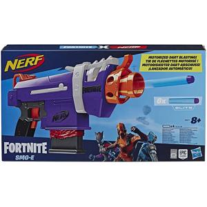 Nerf Fortnite. SMG-E (Blaster motorizzato con clip di 6 dardi, include 6 dardi ufficiali Nerf Elite)