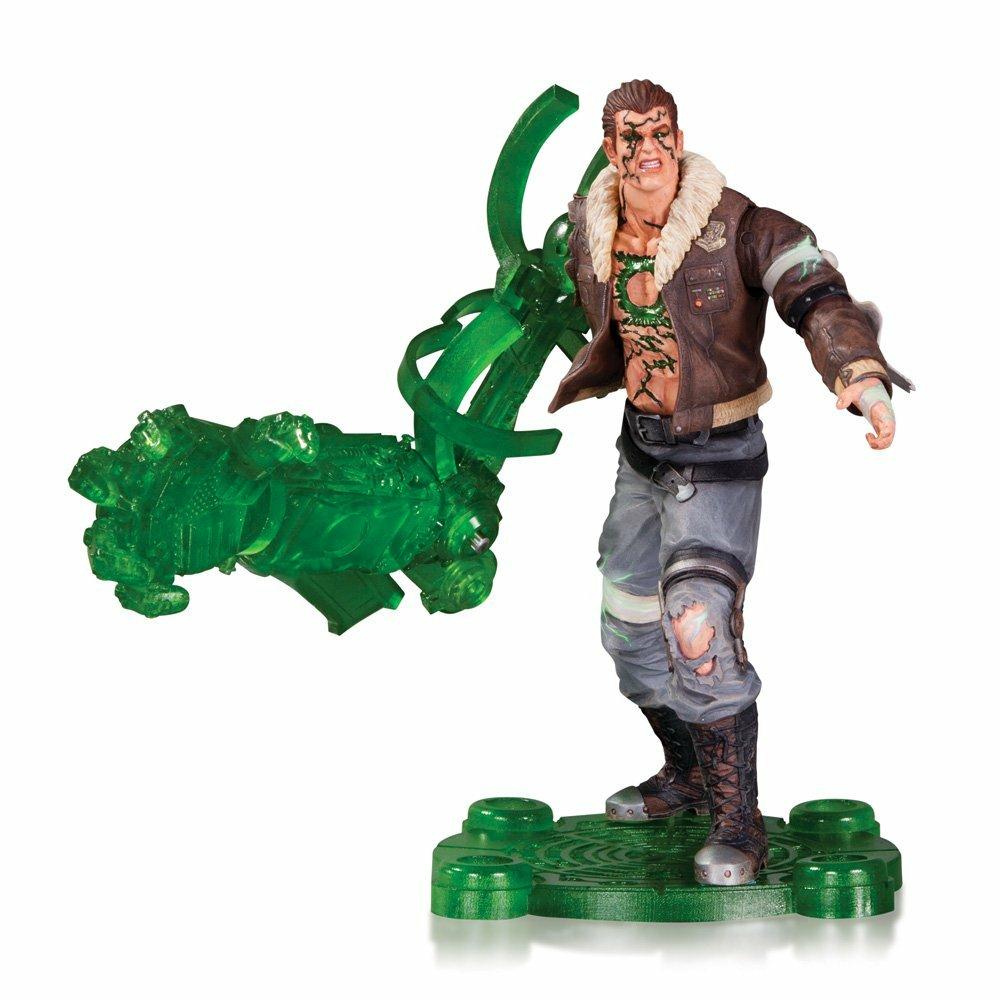 Action Figure DC Comics Infinite Crisis. Atomic Green Lantern Af DC Collectibles