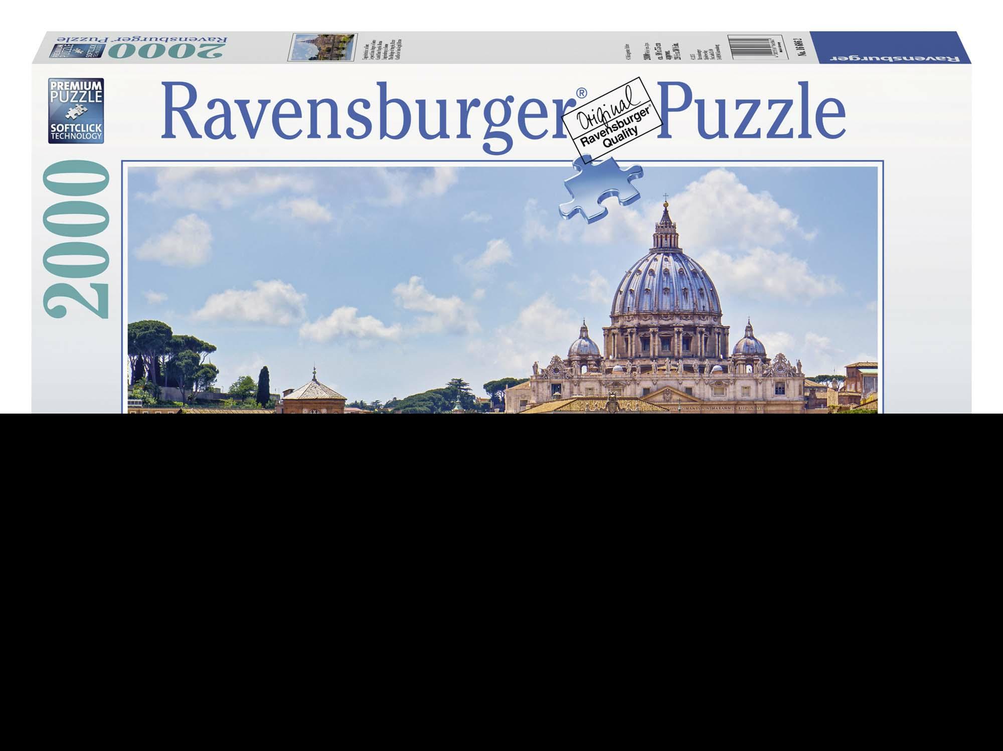 Castel Sant'Angelo, Roma Puzzle 2000 pezzi Ravensburger (16686)