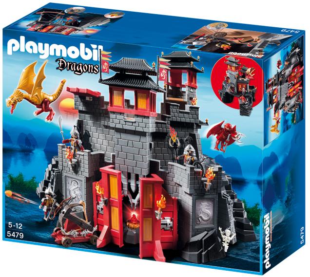 Playmobil Dragons. Grande Fortezza asiatica del Drago (5479)
