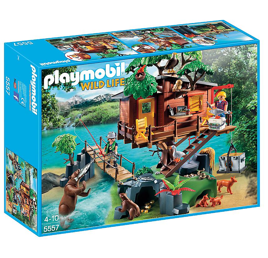 Playmobil Wild Life. Casa-avventura sull'albero (5557)