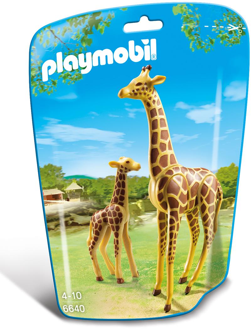 Playmobil Zoo Giraffa con Cucciolo (6640)