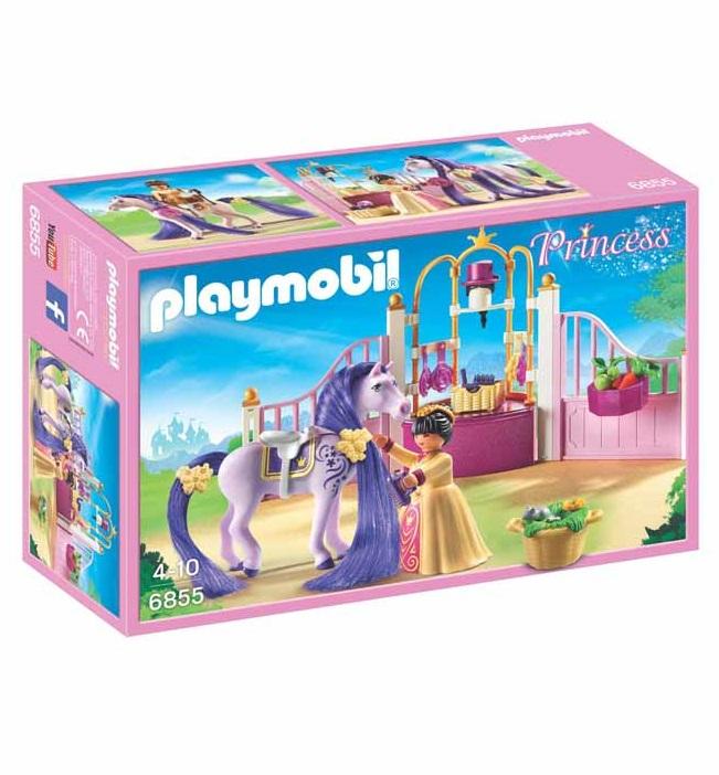 Playmobil Stalla Reale Con Purosangue