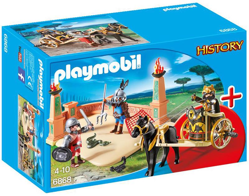 Playmobil Starter Sets Gladiatori dell'Antica Roma (6868)