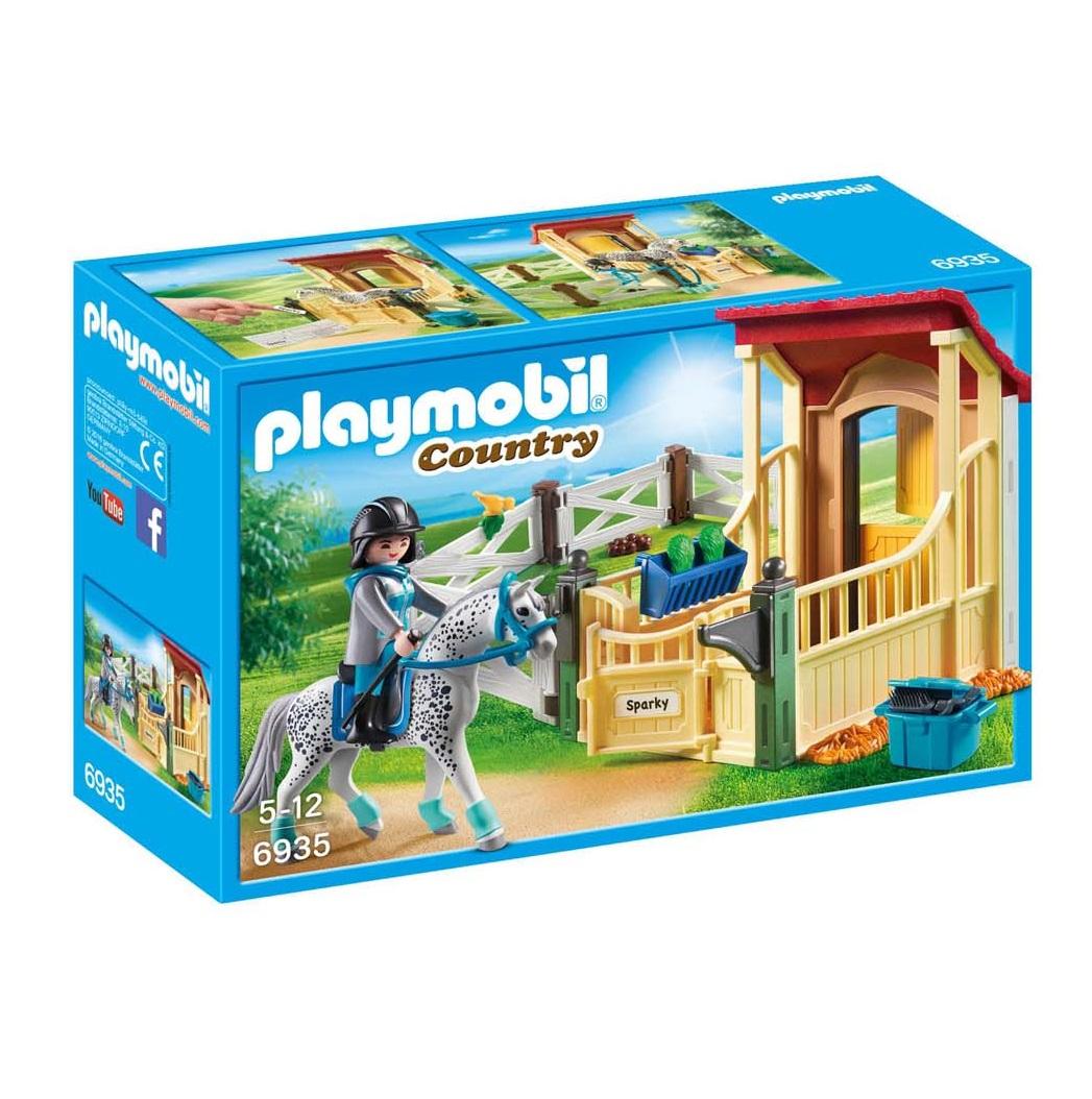 Playmobil Grande Maneggio (6935). Stalla con Cavallo Appaloosa