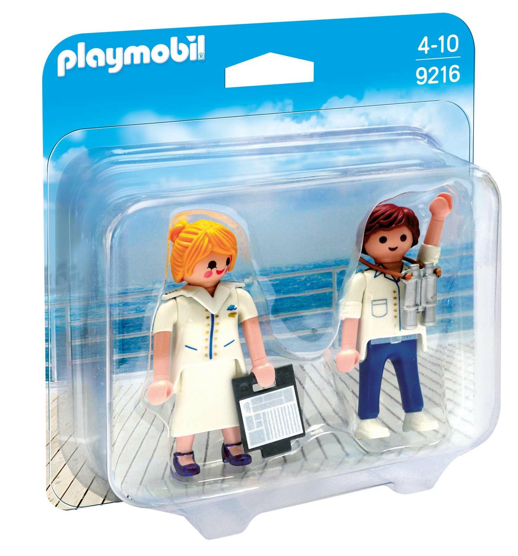 Playmobil Duo Pack. Comandante E Hostess Nave