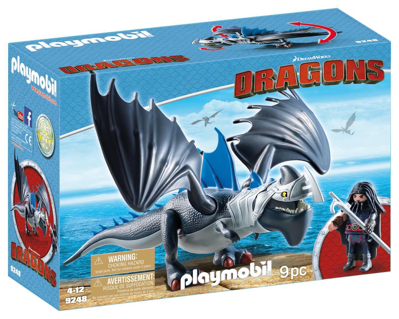 Playmobil 9248. Dragons. Drago Con Artigliotonante Corazzato