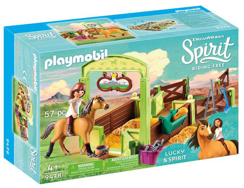 Playmobil Spirit (9478). Lucky e La Stalla di Spirit