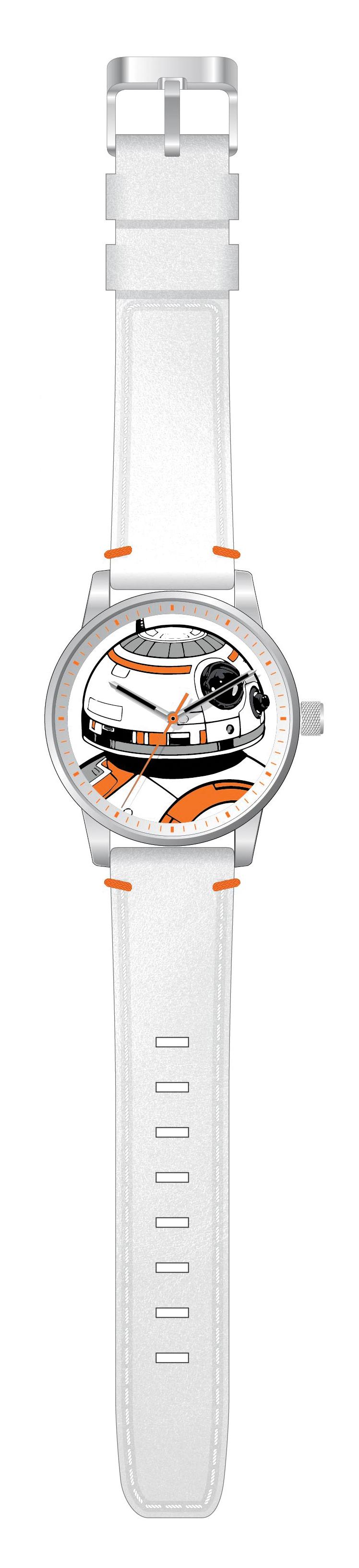 Star Wars. Orologio Da Collezione con Cassa In Acciaio E Meccanismo di Livello Elevato Bb-8