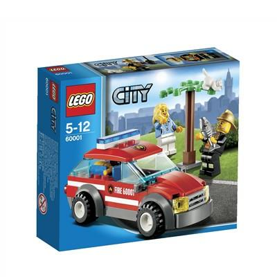 Lego City (60001). Auto del comandante dei Pompieri