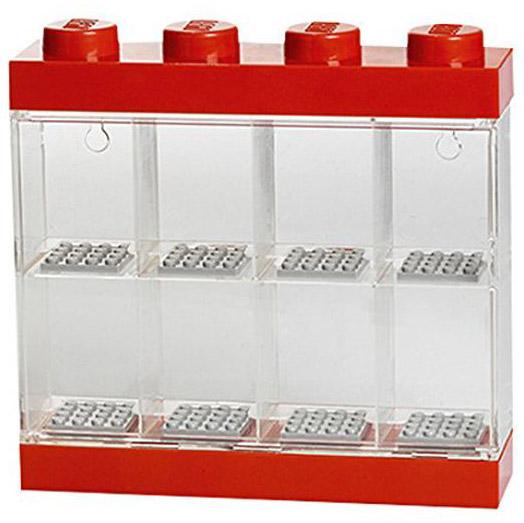 Lego Espositore LEGO Minifig 8 Posti Rosso