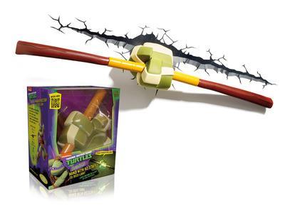 Lampada Led 3D LightFx. Ninjia Turtles. Donatello Bastone