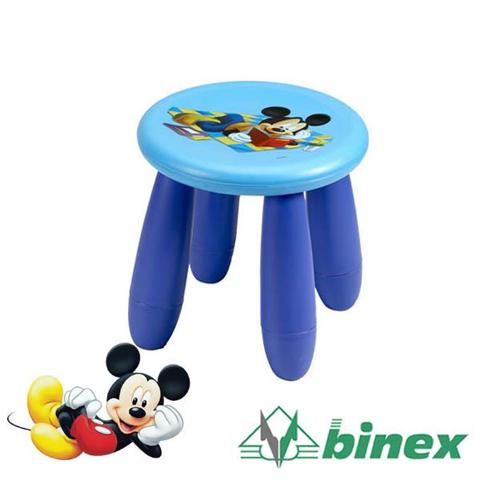 Sgabello In Pastica 30X32 Cm Disney Mickey Mouse Arredo Casa Camerette Bambini