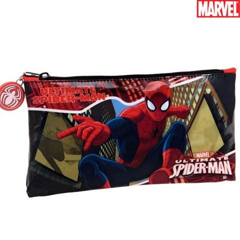 Astuccio Portapenne Portamatite Portapastelli Scuola Neceser Marvel Spiderman