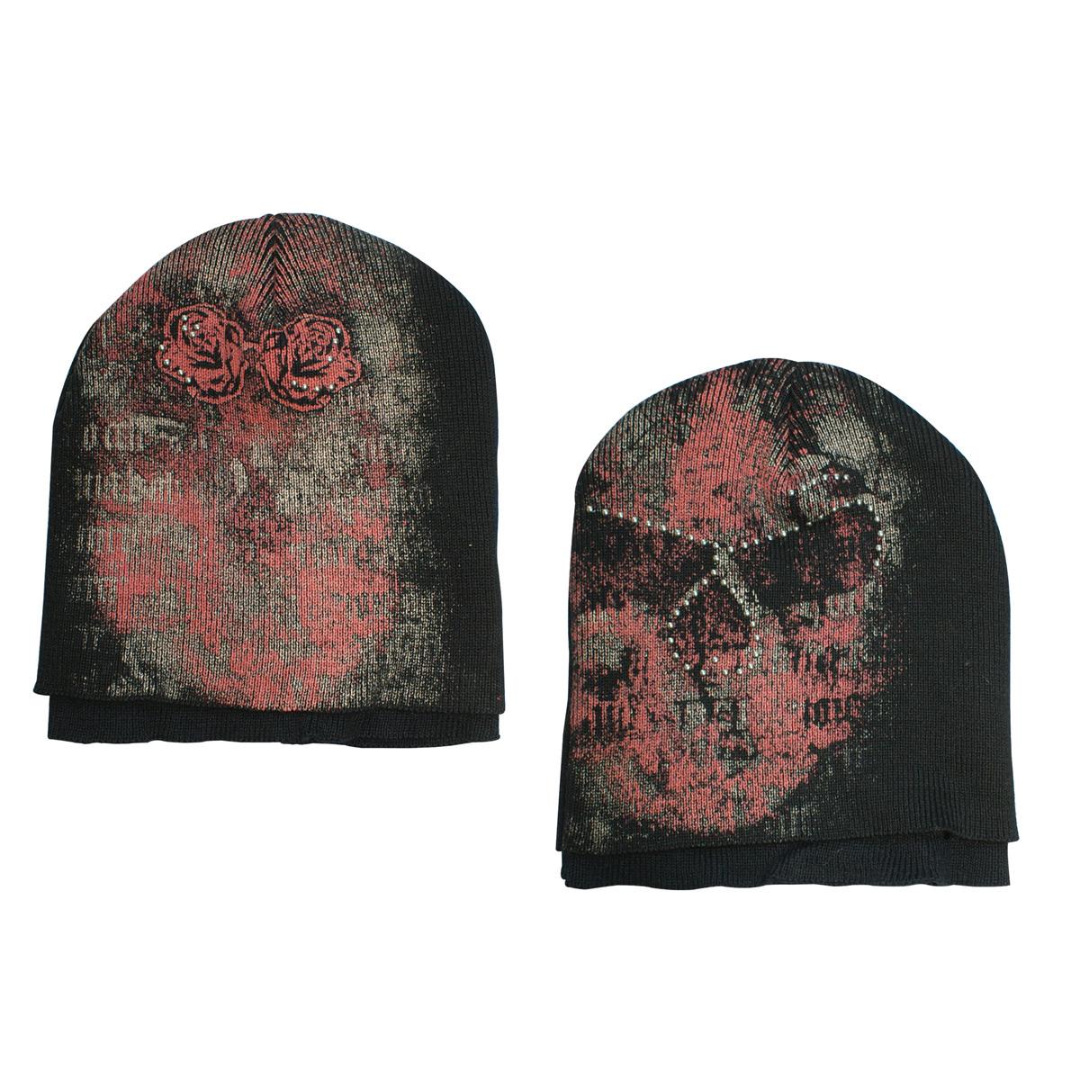 Berretto Alchemy. Double Layers Skull Stone