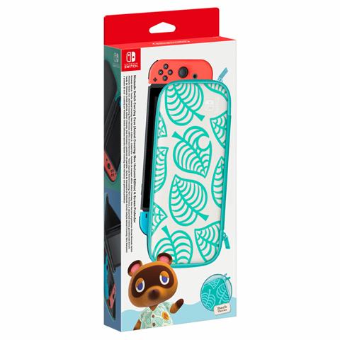 Nintendo 10003984 custodia per console portatile Custodia a tasca Verde, Bianco
