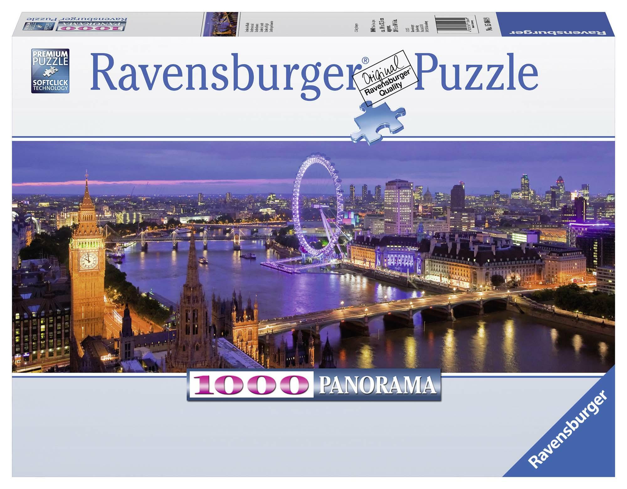 Londra di notte Panorama Puzzle 1000 pezzi Ravensburger (15064)