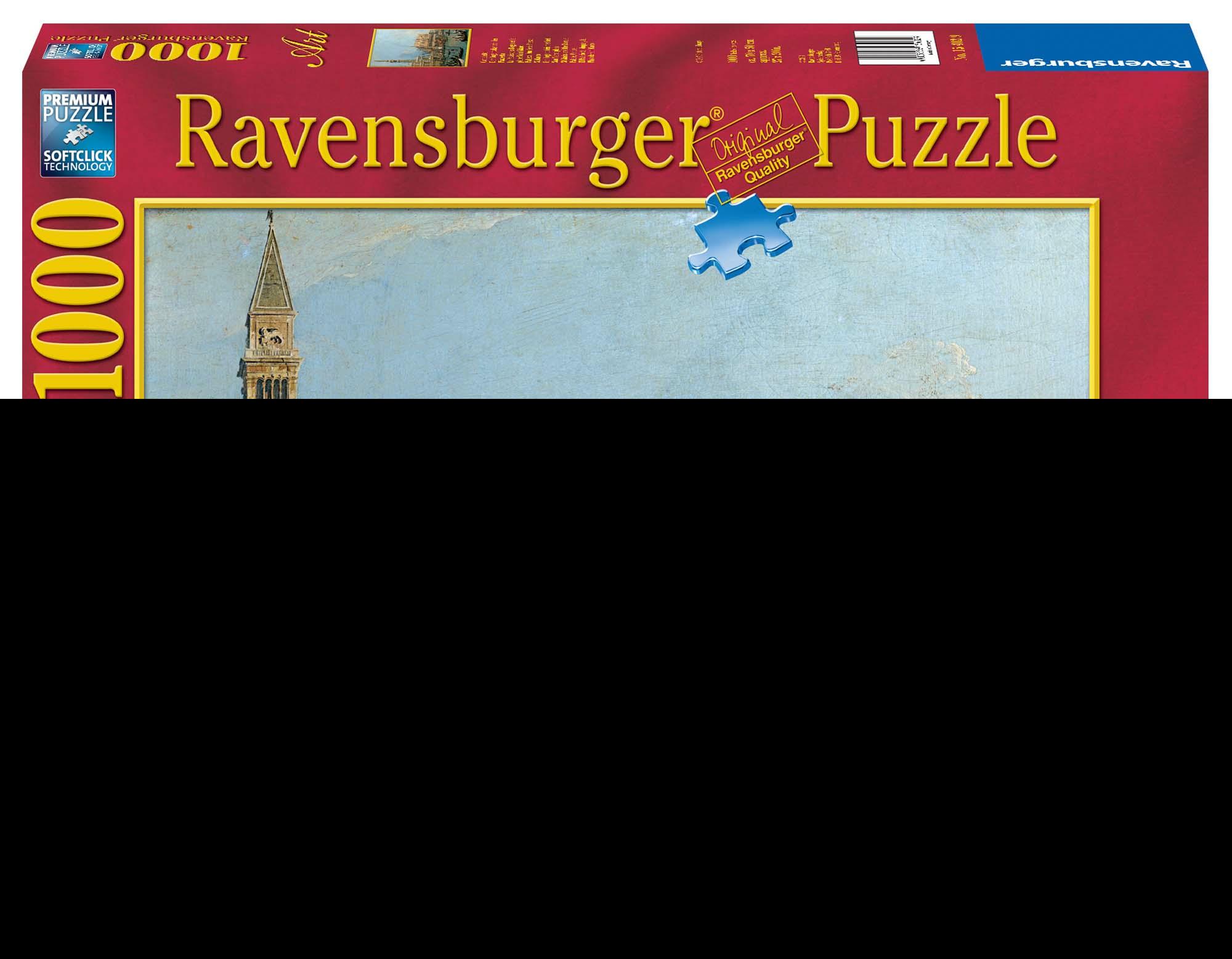 Canaletto: Palazzo Ducale Puzzle 1000 pezzi Ravensburger (15402)