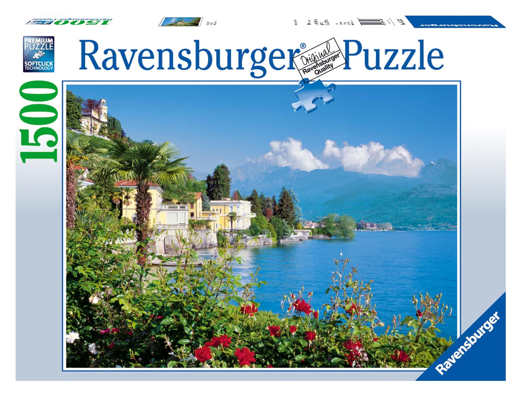 Lago Maggiore Puzzle 1500 pezzi Ravensburger (16253)
