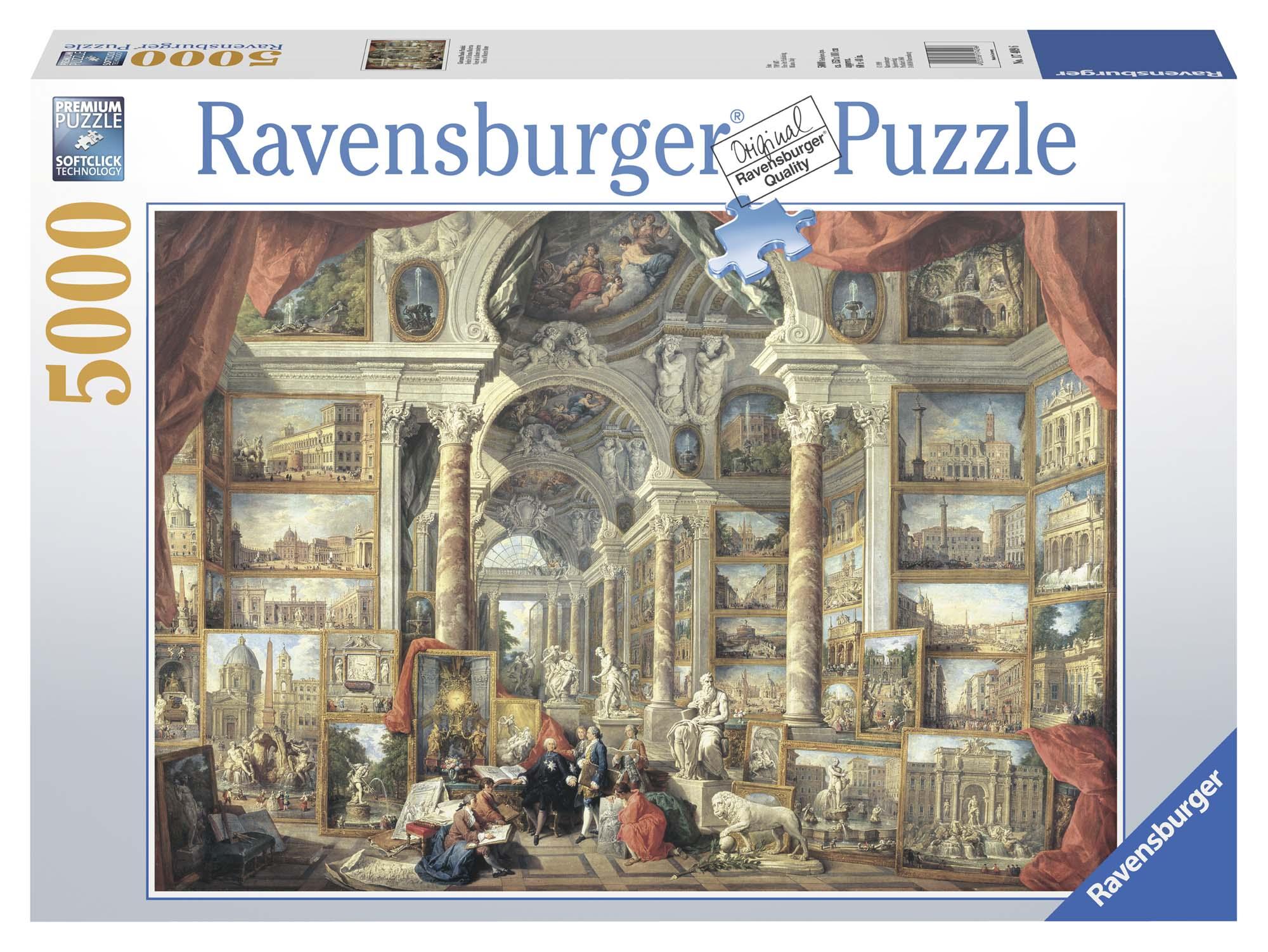 Puzzle 5000 pezzi Vedute di Roma