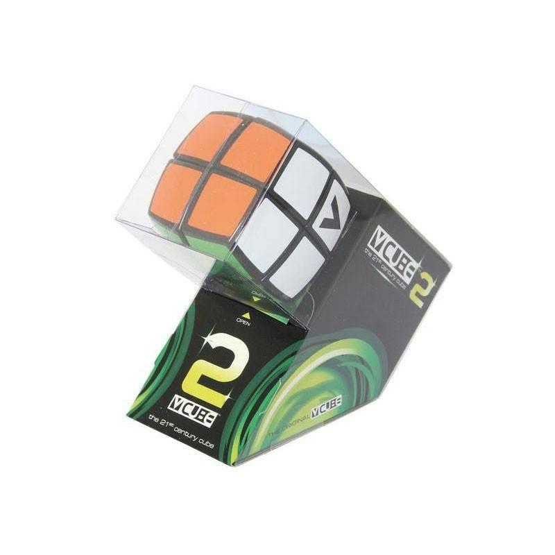 Cube Cubo Magico V-CUBE 2x2 nero B (rotondo) originale Verdes 2x2x2