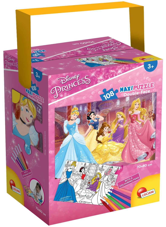 Puzzle In A Tub Maxi 108 Disney Princess