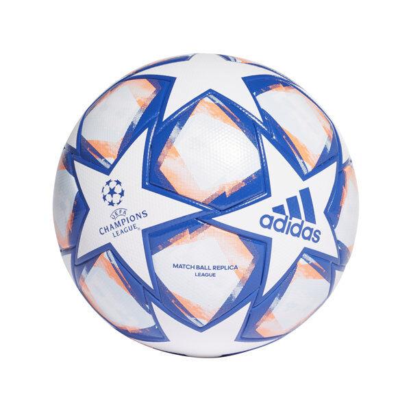 adidas UCL Finale 20 League - pallone calcio - White/Blue/Orange