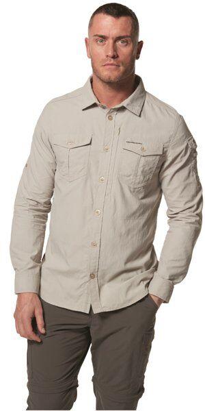 Craghoppers NosiLife Adventure II - camicia a maniche lunghe - uomo - Beige