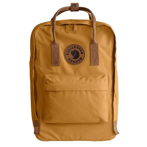 Fjällräven Kanken No.2 Laptop 15 - Dark Yellow/Brown