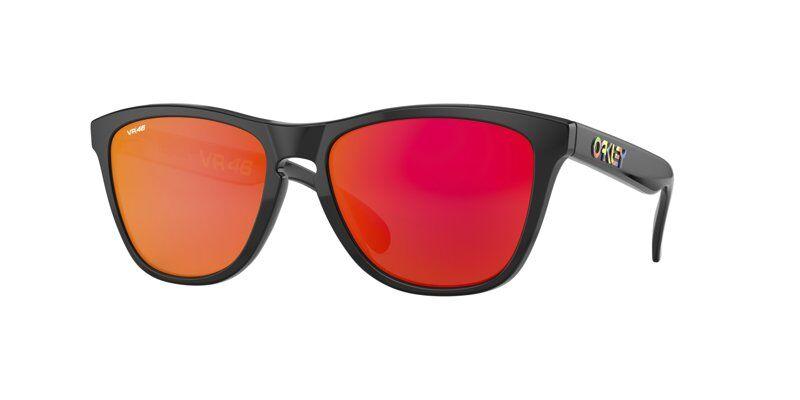 Oakley Frogskins Valentino Rossi Signature Series - occhiali da sole sportivi - Black