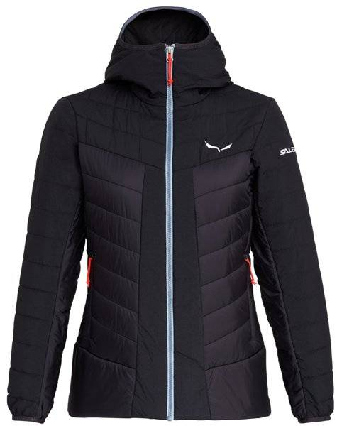 Salewa Puez Tw CLT W Hood - giacca con cappuccio - donna - Black
