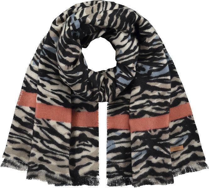 barts cosenza - sciarpa - donna - black/brown/red