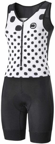 dotout flash - completo ciclismo - donna - black/white