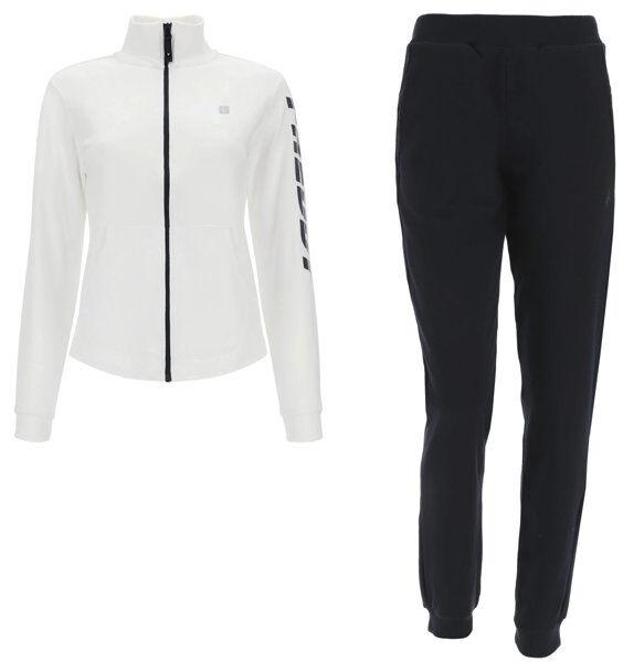 freddy tuta m/l - tute sportive  - donna - black/white