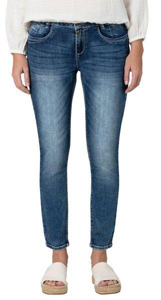 timezone sanya 7/8 - jeans - donna - blue