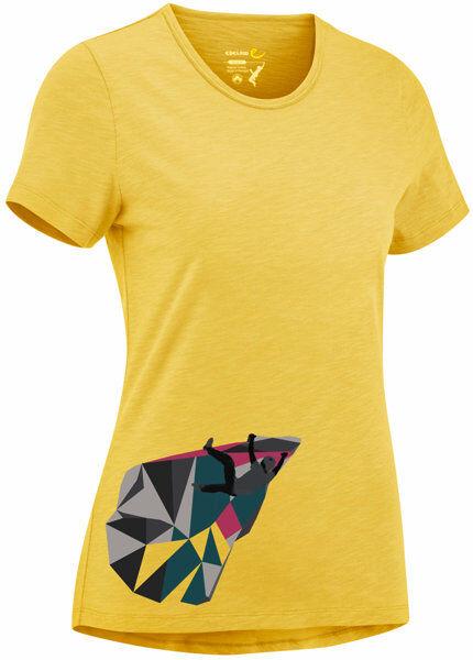 Edelrid Highball IV - T-shirt - donna - Yellow