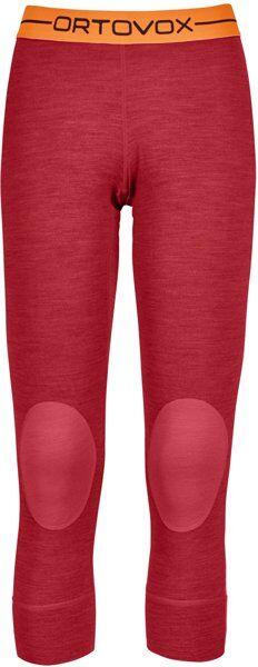 Ortovox 185 Rock'n Wool - calzamaglia scialpinismo - donna - Red