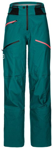 Ortovox 3L Deep Shell Pants - pantaloni scialpinismo - donna - Green