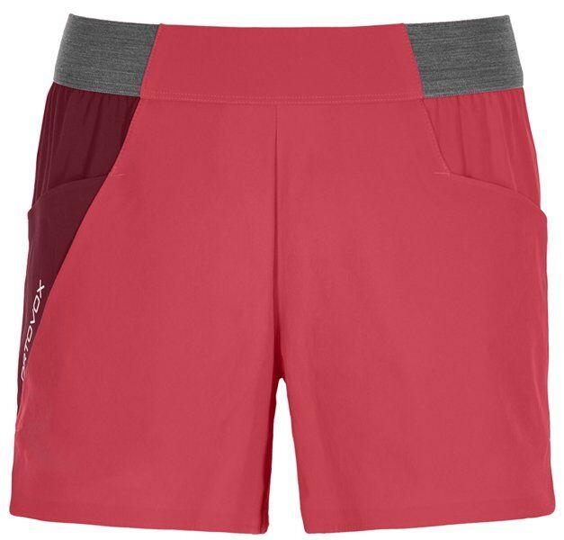 Ortovox Piz Selva Light - pantaloni corti trekking - donna - Red