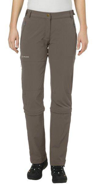 Vaude Farley Stretch - pantaloni zip-off - donna - Brown