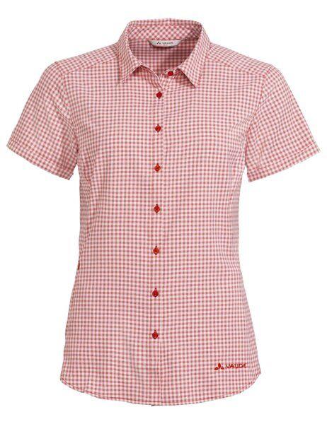 Vaude Seiland - camicia a manica corta - donna - Red/White