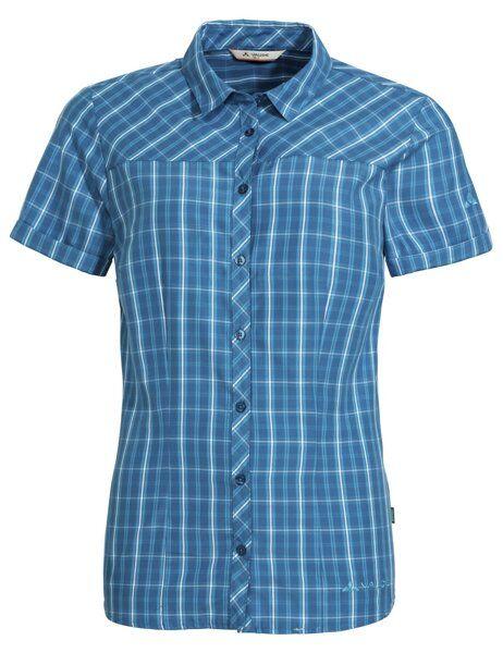 Vaude Wo Tacun II - camicia a maniche corte - donna - Blue