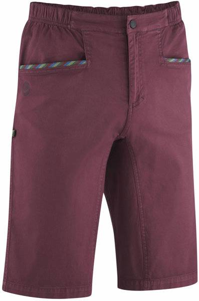 Edelrid Monkee - pantaloni corti arrampicata - uomo - aubergine