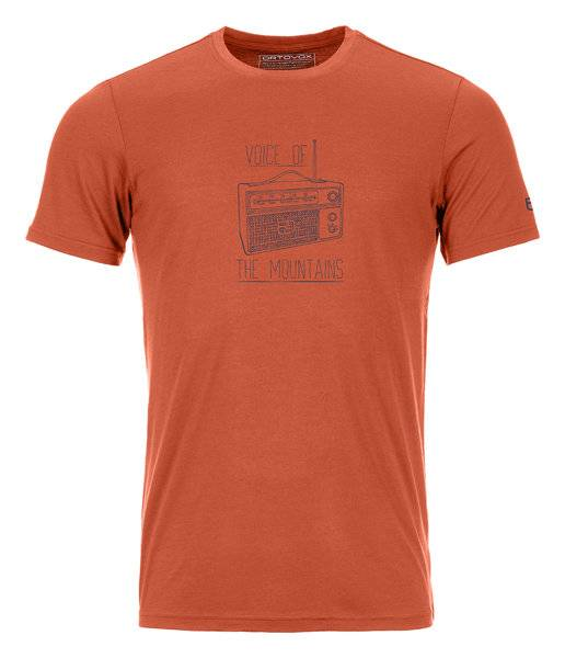 Ortovox 150 Cool Radio Ts - T-shirt - uomo - Orange