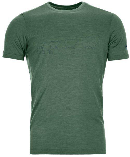 Ortovox 150 Cool Weoolution Ts - T-shirt - uomo - Green