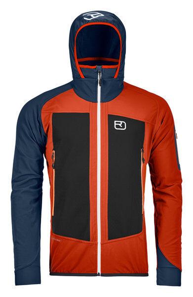 Ortovox Col Becchei - giacca con cappuccio - uomo - Orange